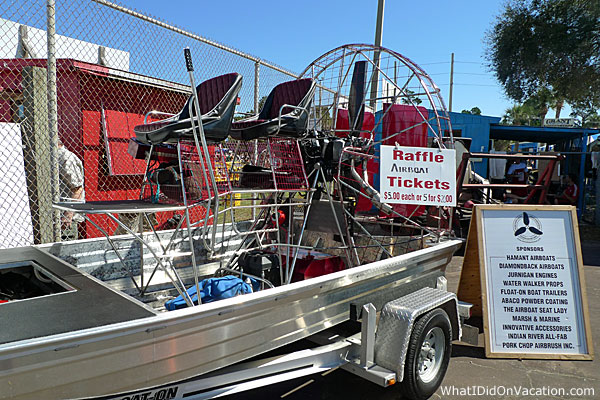 GGrant Seafood Festival airboat