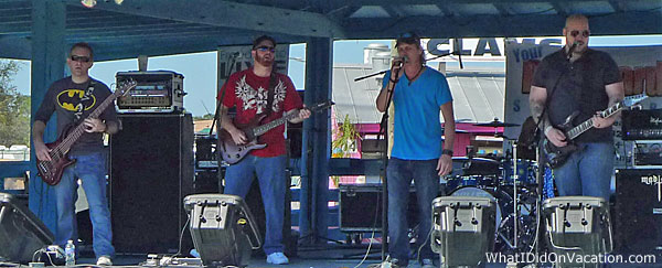 Grant Seafood Festival band rocks the crowd