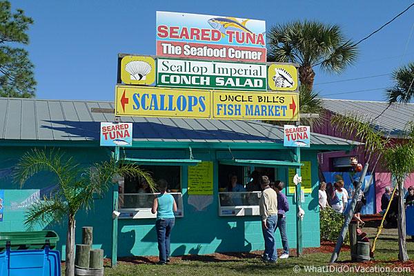 Grant Seafood Festival scallops