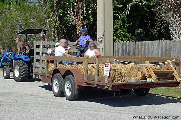 Grant Seafood Festival trailer transportation