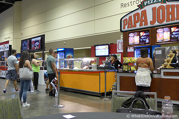 europa games food court