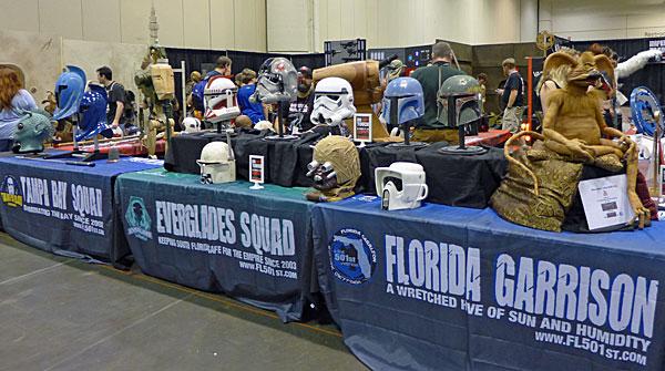 MegaCon 501st legion helmets