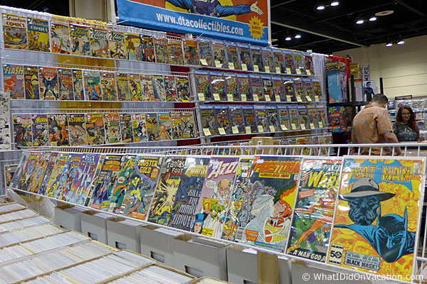 MegaCon 2015 comics for sale
