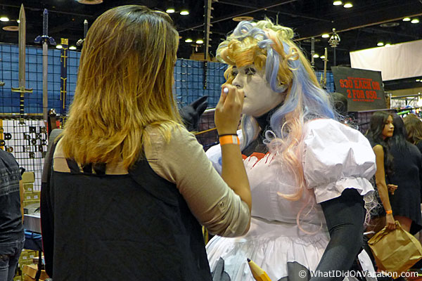 MegaCon 2015 cosplay touchup