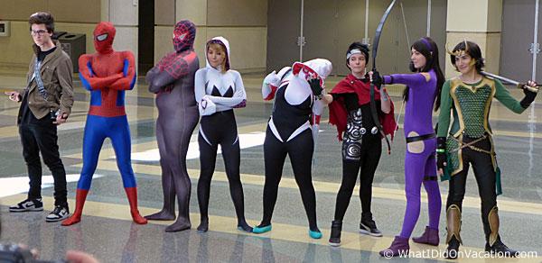 MegaCon 2015 cosplay characters