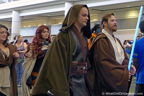 MegaCon 2015 cosplay jedi