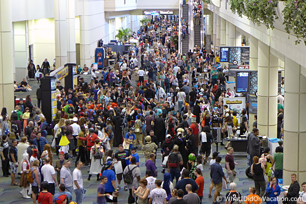 MegaCon Orlando 2015 crowds