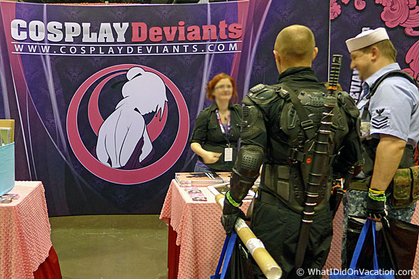 cosplay deviants at MegaCon