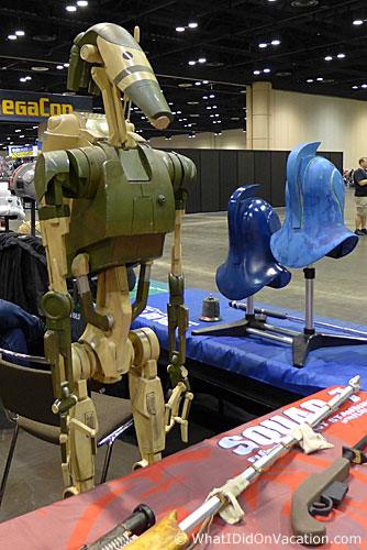 MegaCon 2015 Star Wars battle droid