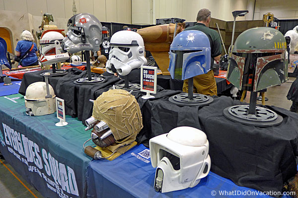 MegaCon 501st helmets
