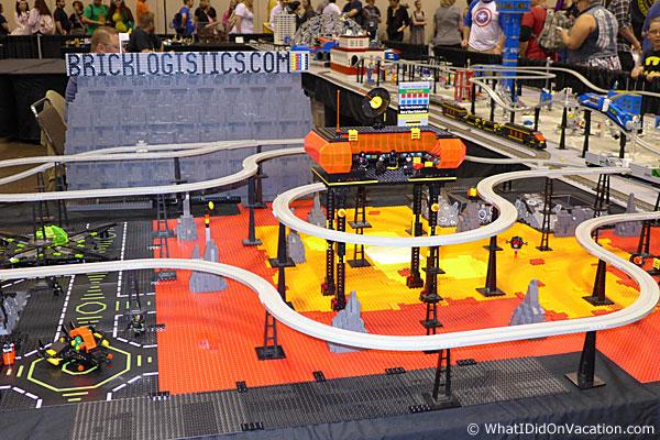 MegaCon lego monorail