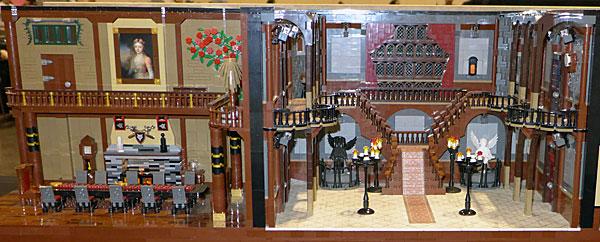 MegaCon legos haunted mansion