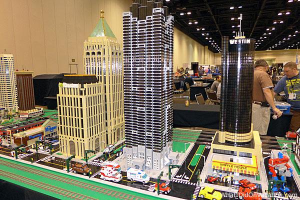MegaCon legos city scape
