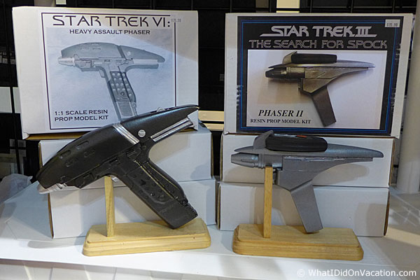 Star Trek phasors at MegaCon