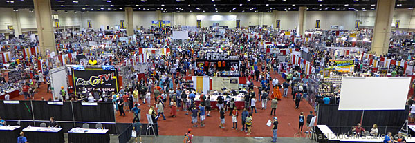 MegaCon 2015 the show floor