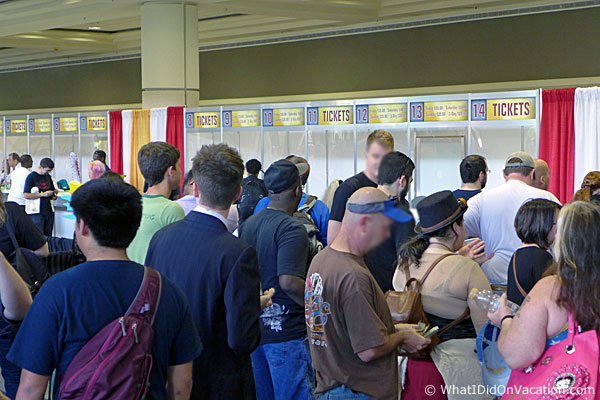 MegaCon ticket purchasing