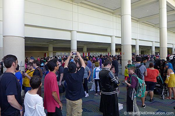 MegaCon buying tickets