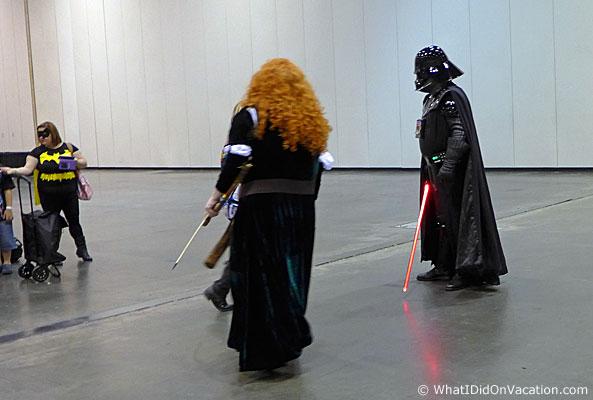 MEGACO Star Wars vader fight