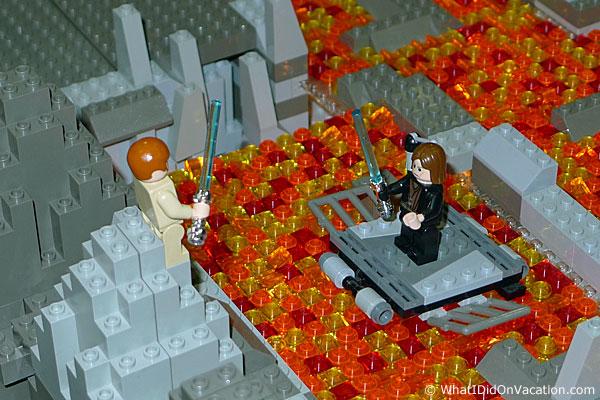 Anakin versu Obiwon in legos