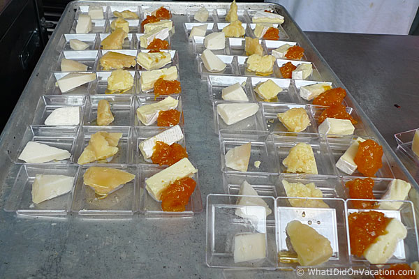 epcot food and wine festival cheese sampler