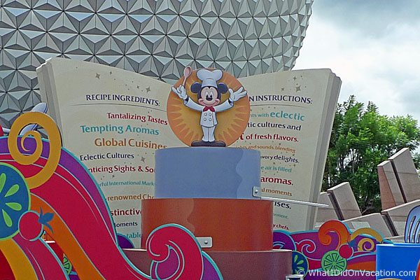 Close up of Chef Mickey at EPCOT
