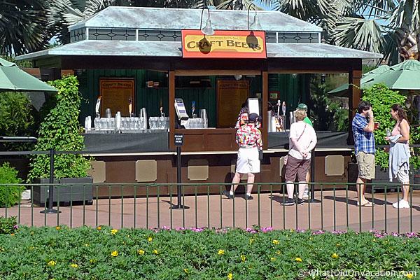 craft beer kiosk