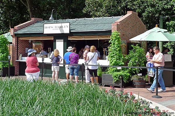 epcot food and wine festival usa kiosk