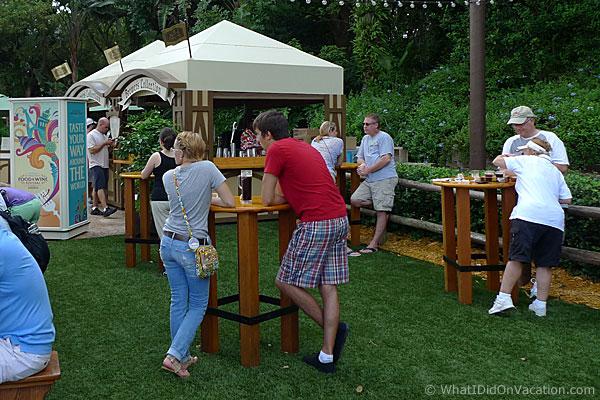 epcot food and wine festival beer garden