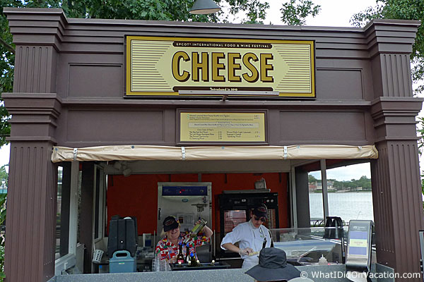 epcot food and wine festival cheese kiosk
