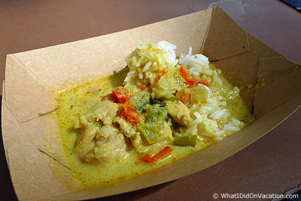epcot food and wine festival curry chicken