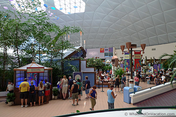 epcot wine and food festival center