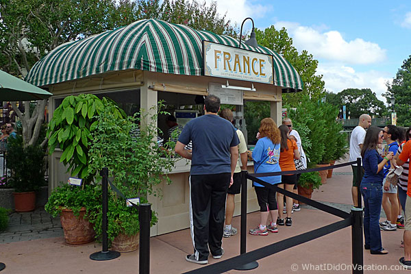 epcot food and wine festival france kiosk