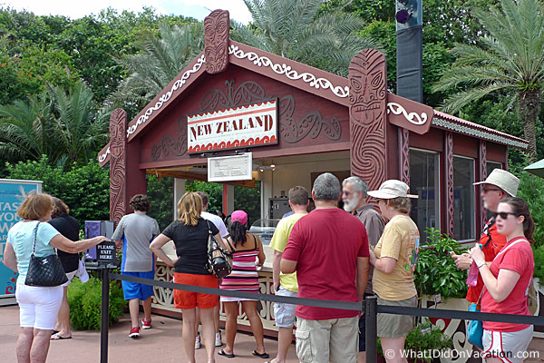 epcot food and wine festival new zealand kiosk