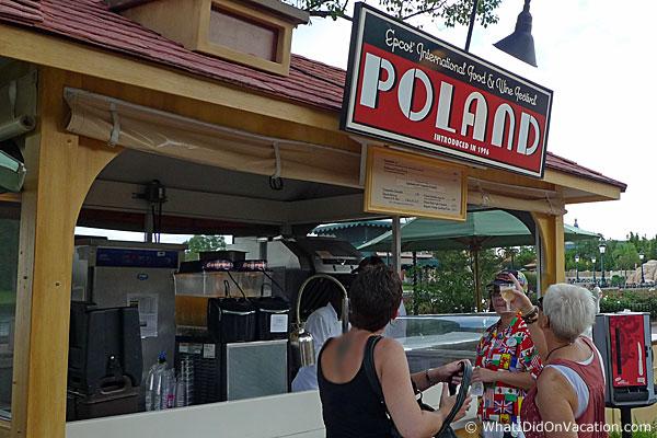 epcot food and wine festival poland kiosk
