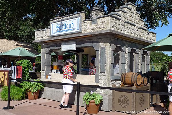 epcot food and wine festical scottland kiosk