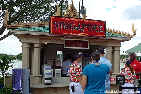 epcot food and wine festival singapore kiosk