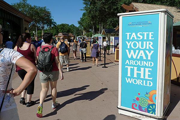 epcot taste your way around the world