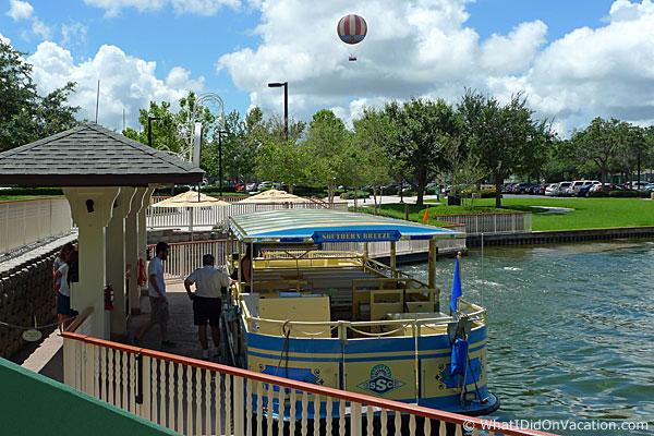 Saratoga Springs boat dock