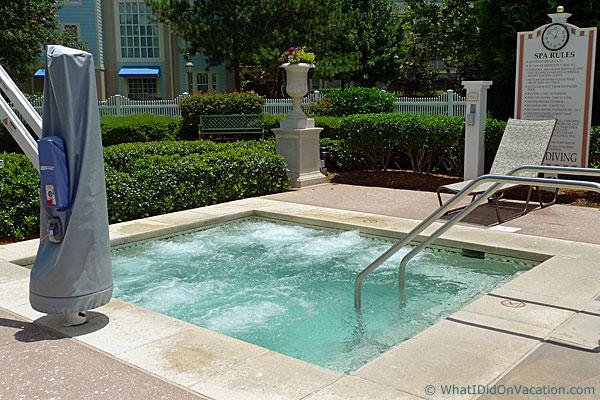 the congress park hot tub