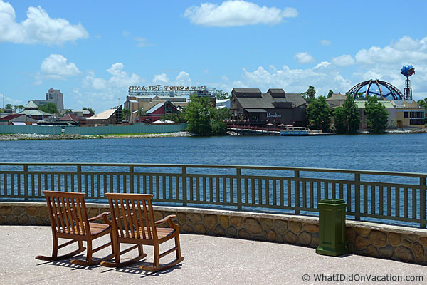 congress park Downtown Disney view