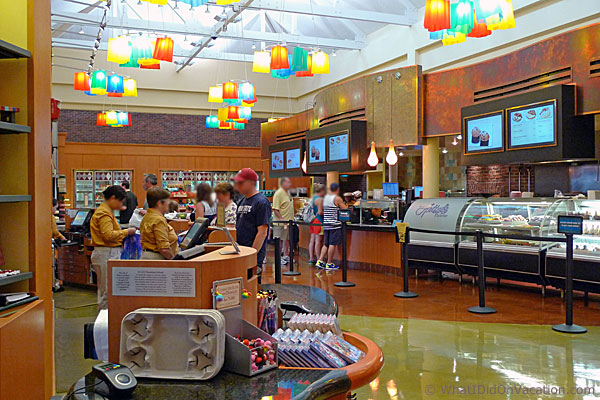 the saratoga springs food court