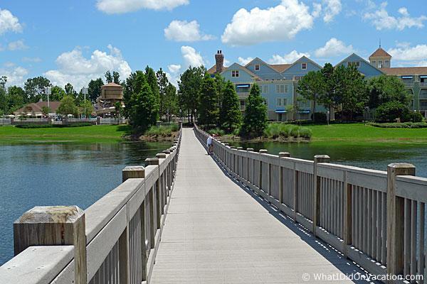 bridge to the paddock