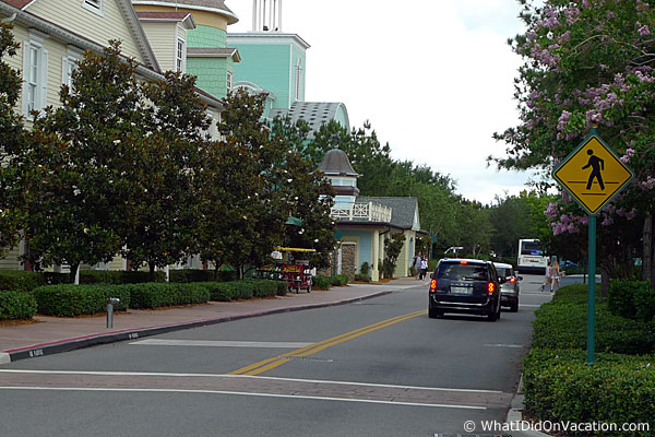 Saratoga springs main road