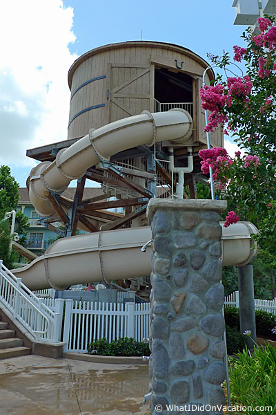 the paddock pool water slide