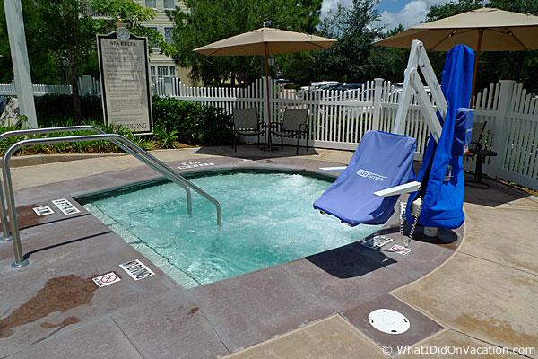 paddock pool hot tub