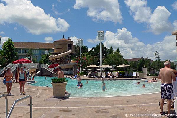 Disney S Saratoga Springs Resort Vacation Pool Hopping