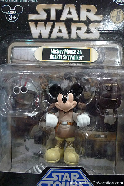 mickey as Anakin Skywalker