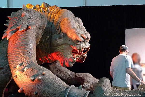 Roxy the Rancor is big