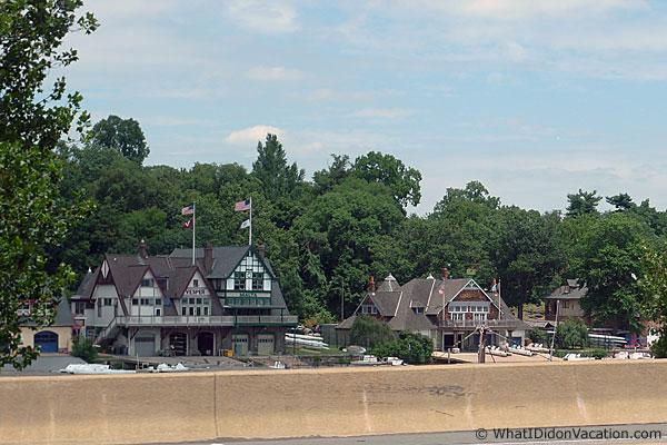 Boat house row Phliadelphia