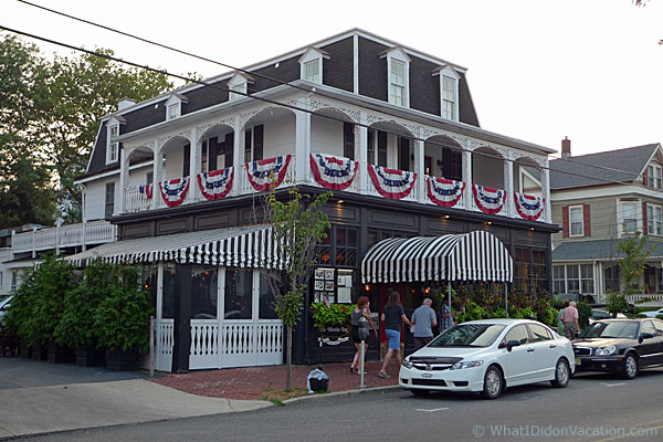 Cape May restaurant